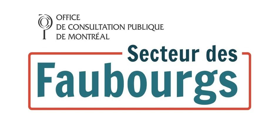 Consultez faubourgs.ocpm.qc.ca pour plus de contenus dont une carte interactive du secteur. (Groupe CNW/Office de consultation publique de Montréal)