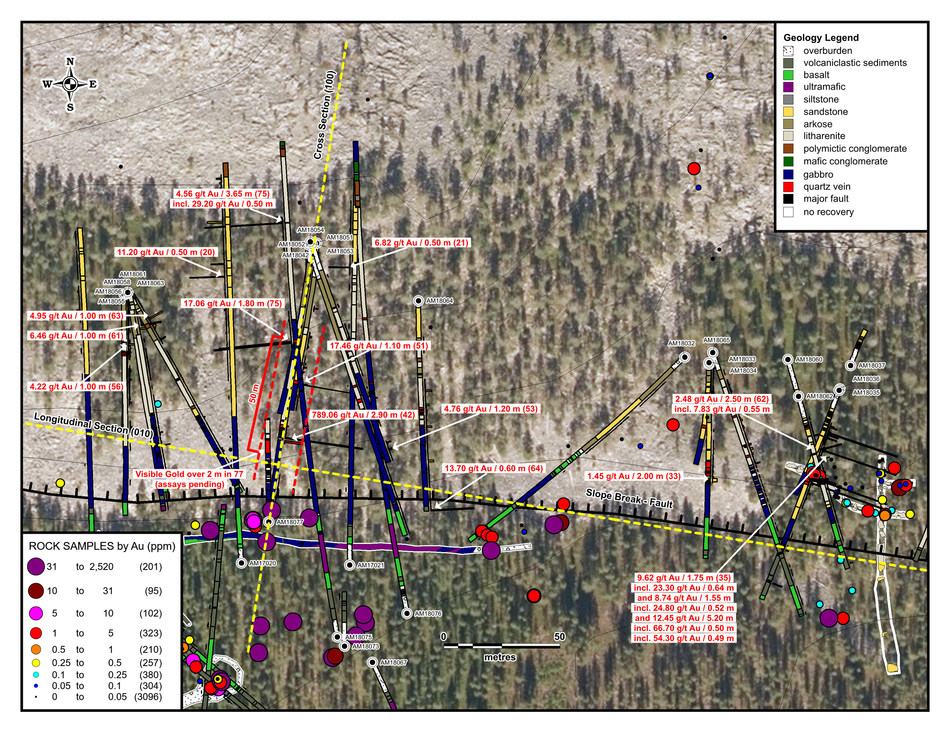 Aamurusko Detailed Inset Map (CNW Group/Aurion Resources Ltd.)