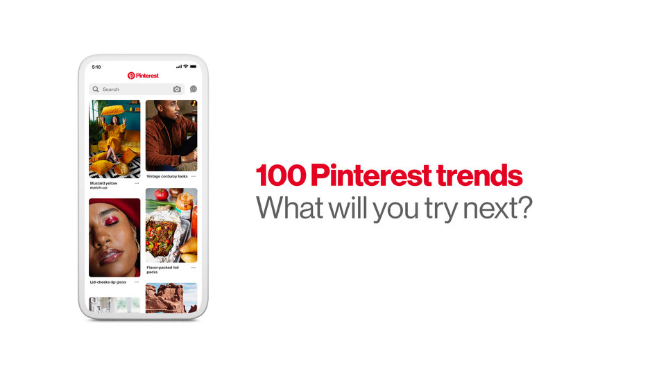 Pinterest is announcing the official 100 Pinterest trends for 2019. These trends are what people all over the world are dreaming about for the year ahead--from everyday inspiration to the epic dreams-for-someday stuff.