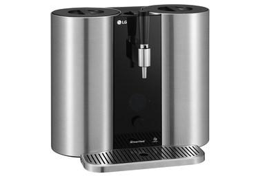 LG Electronics (LG) présentera au CES 2019 le LG HomeBrew, une machine à produire de la bière artisanale à partir de capsules – lauréat d'un prix de l'innovation CES 2019. (Groupe CNW/LG Electronics, Inc.)