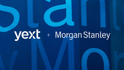 Morgan Stanley Chooses Yext Brain to Manage Financial