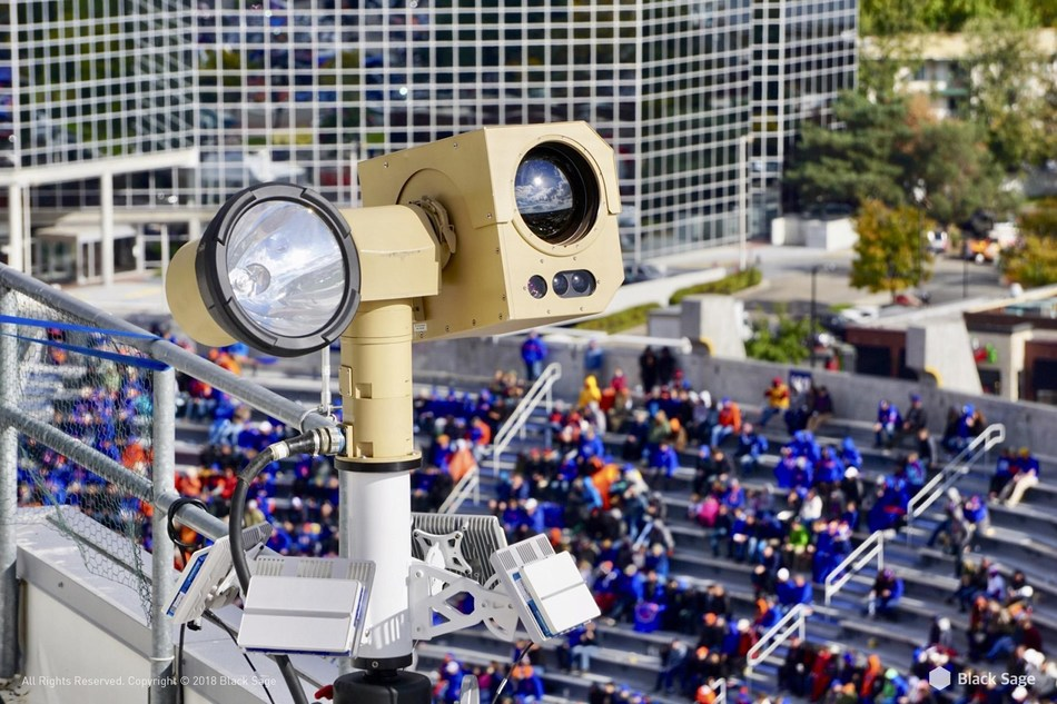 Counter-UAS system over the stadium