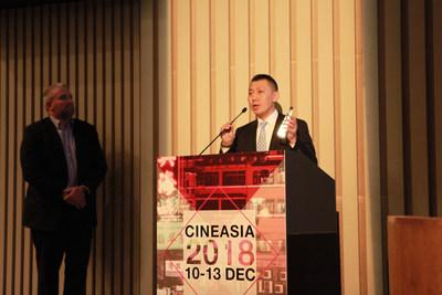 Jimmy Chen, directeur général de CGS (PRNewsfoto/China Film Digital Giant Screen)