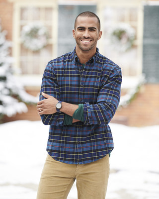 The Lands' End storefront on Amazon.com features holiday favorites such as the Men's Traditional Fit Flannel Shirt, available in 15 colors.