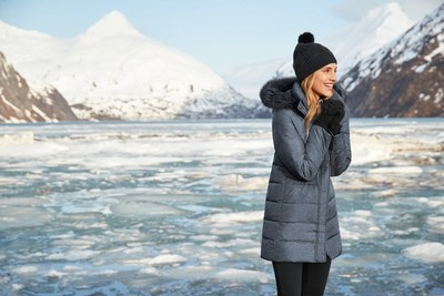 Holiday shoppers on Amazon.com will find warm winter outerwear from Lands' End, such as the Women's Winter Long Down Coat with Faux Fur Hood.