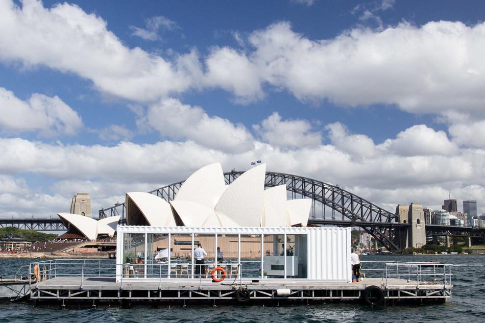 Wakefield Wines Cellar Door at Sea on Sydney Harbour - 7-9 December 2018
