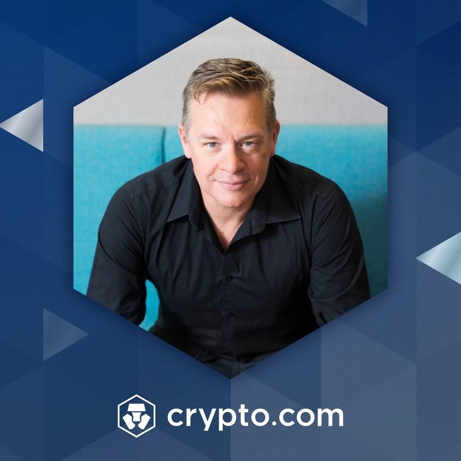 Crypto.com Hires Former PayPal and Braintree Leader Tyson Hackwood (PRNewsfoto/Crypto.com)