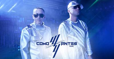 Los ídolos Latinos Wisin y Yandel anuncian gira por Estados Unidos 'Como Antes Tour 2019' (PRNewsfoto/Live Nation Entertainment)