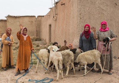 The project in Morocco aims to increase the income and employability of communities. Photo by WOCAN (PRNewsfoto/ACWA Power)