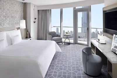 Premier Burj View Twin Room at Address Dubai Mall
