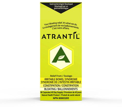 Atrantil est maintenant disponible dans tout le Canada suite à son autorisation, par Santé Canada, le traitement du SII. Mis au point par un gastroentérologue, Atrantil est un mélange de polyphénols entièrement naturels, testé en clinique et éprouvé pour soulager les personnes souffrant du SII. (PRNewsfoto/Atrantil)