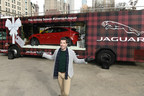 Jaguar And HGTV's Jonathan Scott Unveil First Ever Mobile Holiday Window In Celebration Of The Season
