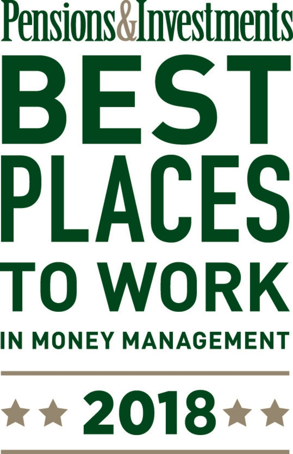 Highland Capital Management wins a 2018 Best Places to Work in Money Management award from Pensions & Investments