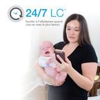 Un nouveau service de Medela qui en quelques secondes relie les mamans à du soutien en allaitement (Groupe CNW/Medela Canada)