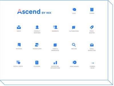 Ascend by Wix Produtos