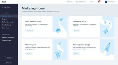 Ascend by Wix Recursos de Marketing