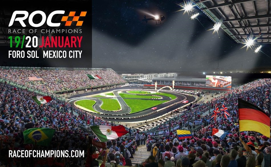 Online Optician Edel-Optics is official eyewear partner of the Race Of Champions 2019 in Mexico, Fotocredit: Race Of Champions (PRNewsfoto/Edel-Optics)