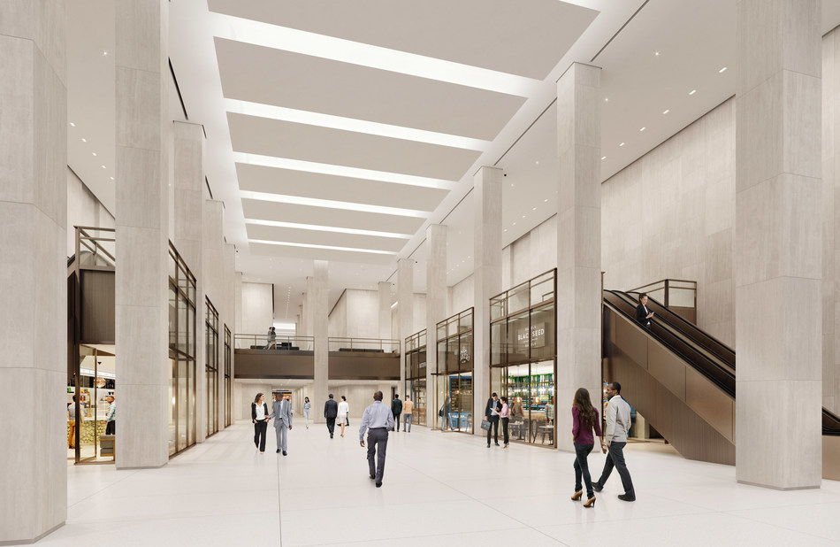 Rendering of Updated Grand Central Terminal-45th Street Connection
