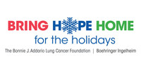Bring Hope Home for the holidays by Bonnie J. Addario Lung Cancer Foundation and Boehringer Ingelheim