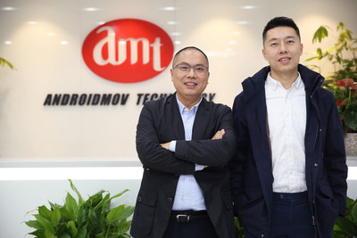Dai Cong, President of Androidmov Technology & Chen Yijun, CEO of Androidmov Technology
