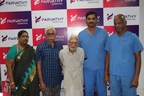 Hip Replacement surgery for a 100 year old patient (PRNewsfoto/Parvathy Ortho Hospital Private)