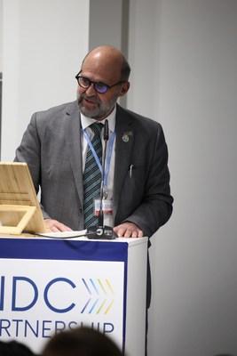 Ministro do Meio Ambiente da Costa Rica e copresidente da Parceria NDC 2019-2020, Carlos Manuel Rodríguez (PRNewsfoto/NDC Partnership)