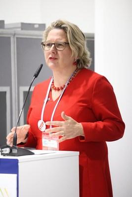Svenja Schulze, ministra para el Medio Ambiente de Alemania (PRNewsfoto/NDC Partnership)