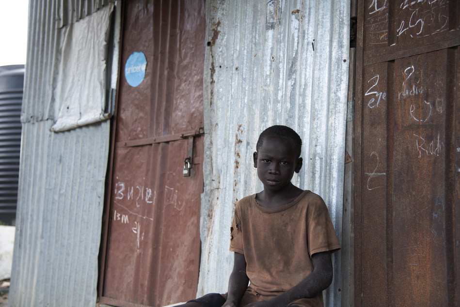 Fifteen thousand children remain separated from their families or missing, five years after conflict first broke out in South Sudan, in 2013. © UNICEF/UN0256302/Ryeng (CNW Group/UNICEF Canada)