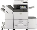 Sharp Introduces New Line Of Color Multifunction Printers For The Technology-Driven Workplace