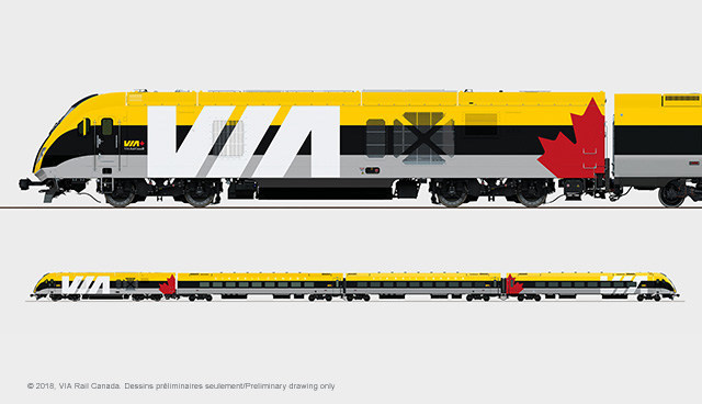 Siemens Canada secures major order with VIA Rail Canada for new fleet of passenger trains (CNW Group/Siemens Canada Limited)