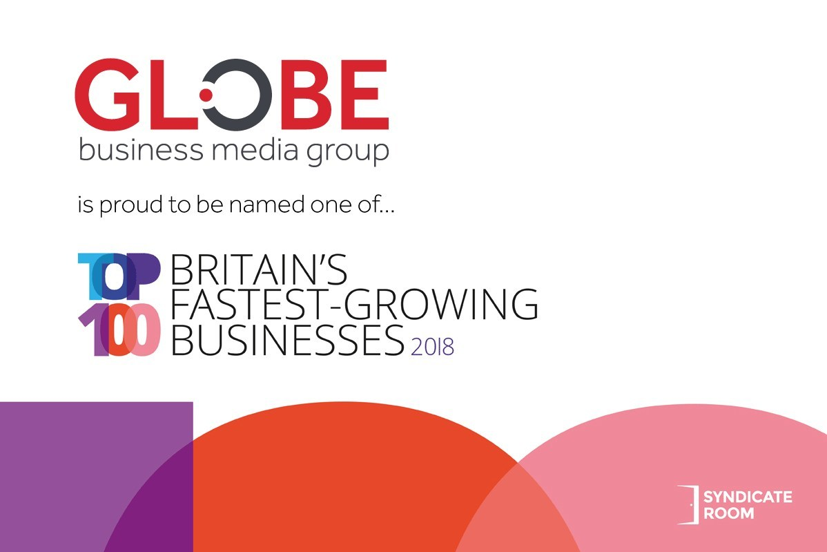 Globe Business Media Group Named 20th Fastest-Growing Business in
