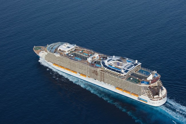 Royal Caribbean International's Oasis of the Seas is coming to the Northeast.  Oasis of the Seas first revolutionized cruise vacations in 2009 with game-changing industry firsts, from the unique seven-neighborhood concept that includes a Central Park with more than 2,700 plants to the iconic AquaTheater entertainment venue.