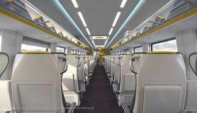 VIA Rail Photo Train Interior Economy (CNW Group/VIA Rail Canada Inc.)