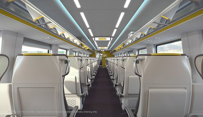 VIA Rail Photo Train Interior Economy (Groupe CNW/VIA Rail Canada Inc.)