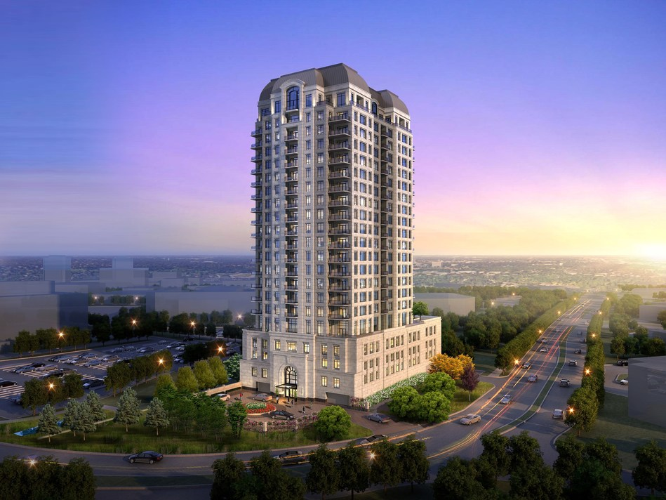The Butler, a luxury condominium development coming soon to Oak Brook.