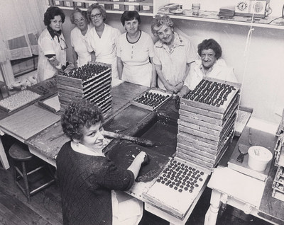 Chocolats Andrée - Une institution montréalaise ouverte depuis 1940 (Groupe CNW/Chocolats Andrée)