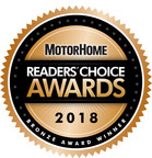 Rear View Safety Wins Bronze Award in 2018 Motor Home Reader's Choice Survey