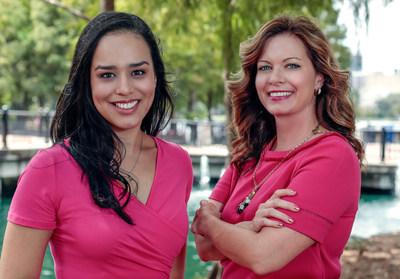 A la izquierda: Krystal Morris. A la derecha: Cathy Murphy.