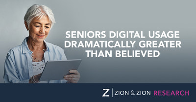 Zion & Zion Study Finds Seniors' Digital Usage Dramatically Greater Than Believed