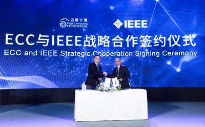 ECC and IEEE Strategic Cooperation Signing Ceremony