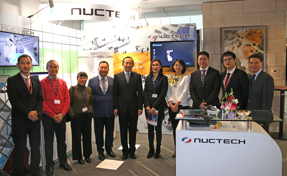 Chen Zhiqiang, Chairman of Nuctech, Attended AVSEC and Visited Dr. Liu Fang, Secretary General of the International Civil Aviation Organization. (PRNewsfoto/Nuctech)