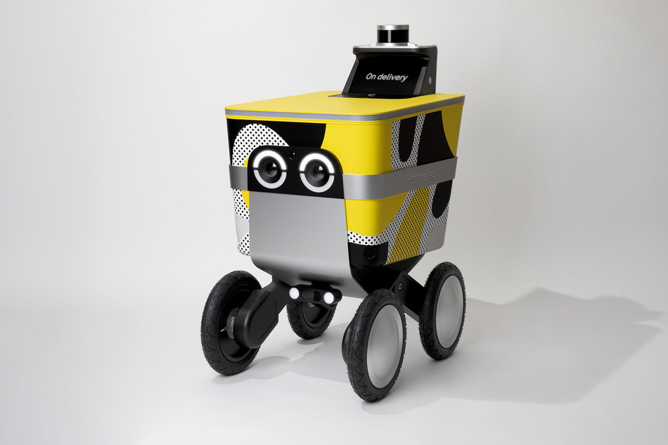 Unveiled today by Postmates, Serve is their internally developed autonomous delivery rover. Serve is a first of its kind - a beautifully designed autonomous delivery rover that we created in-house and that will be seen on sidewalks as the company deploys the new member of our fleet moving into the new year.