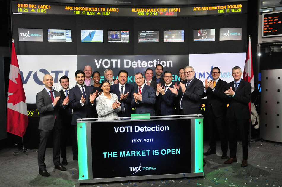 VOTI Detection Inc. Opens the Market (CNW Group/TMX Group Limited)