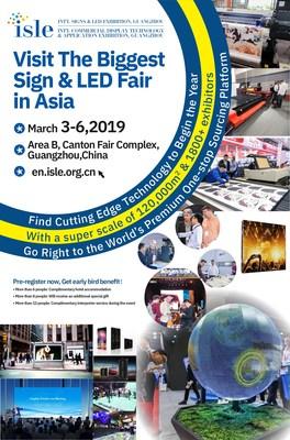 Visite a maior feira de sinalização e LED da Ásia