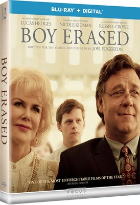 From Universal Pictures Home Entertainment: Boy Erased