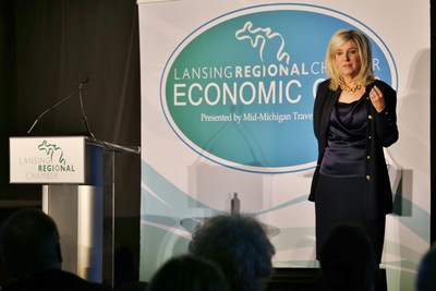 AF Group Donates $5,000 to Local Charities on Behalf of Lansing Regional Chamber Economic Club Attendees