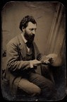 Louis Riel, By William James Topley, ferrotype, ca. 1875, Library and Archives Canada, e011156891 (CNW Group/Library and Archives Canada)