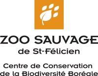Logo : Zoo Sauvage de St-Félicien - Centre de Conservation de la Biodiversité Boréale (Groupe CNW/ZOO SAUVAGE DE SAINT-FELICIEN - CENTRE DE CONSERVATION DE LA BIODIVERSITE BOREALE)
