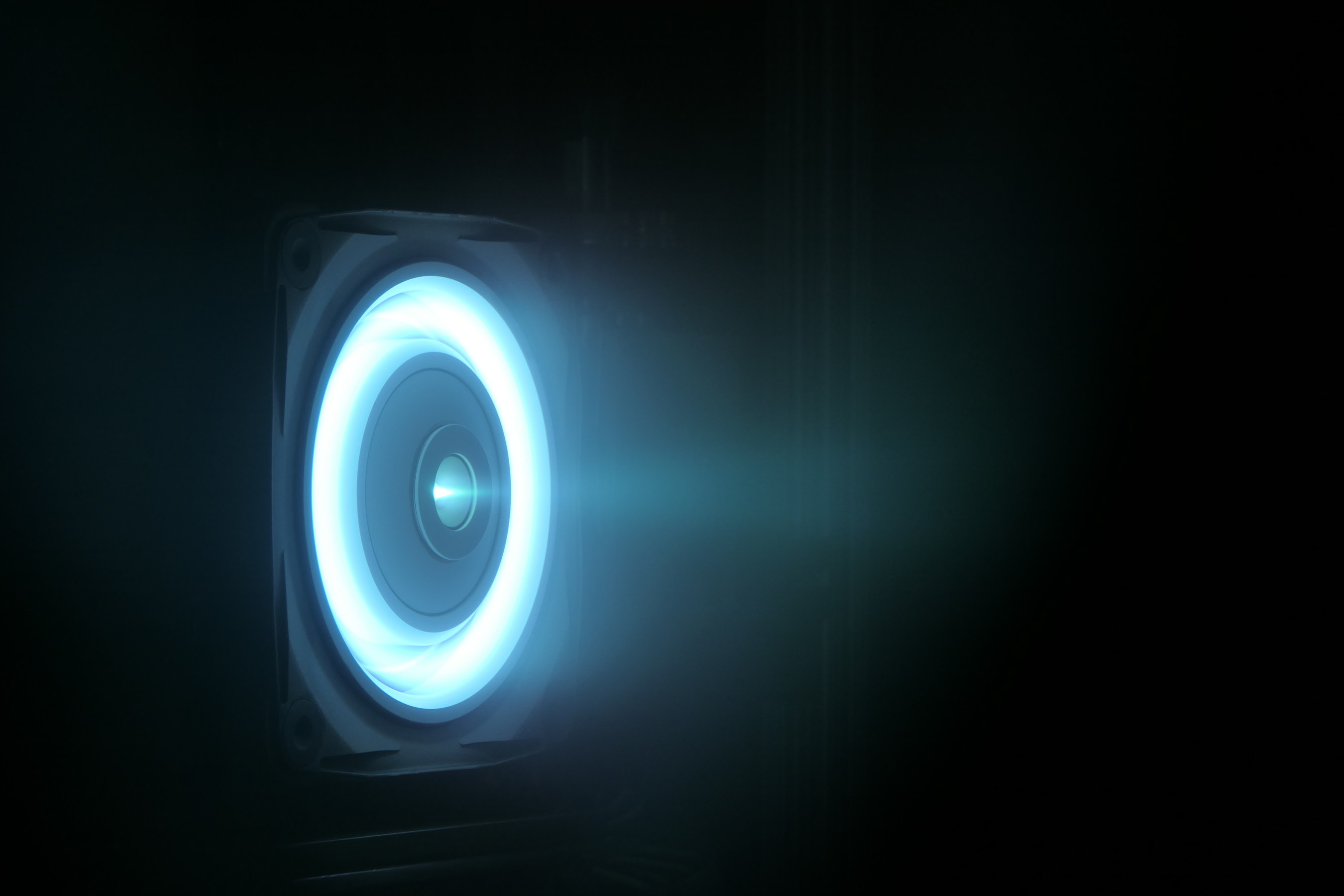 SSL's new high-power electric thruster increases performance for next-generation missions. Image: SSL (CNW Group/Maxar Technologies Ltd.)