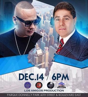 Jacob Forever será distinguido con la develación de su propia estrella el próximo 14 de diciembre en West New York